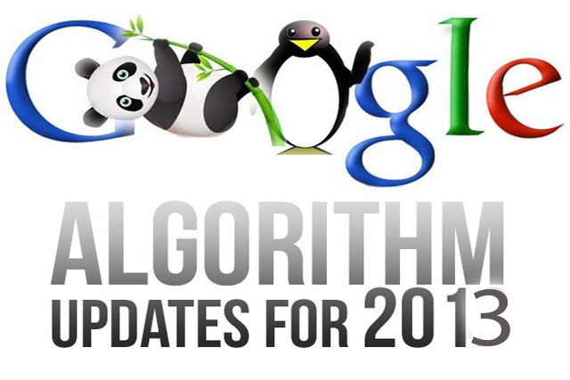 Google Algorithm Updates of 2013