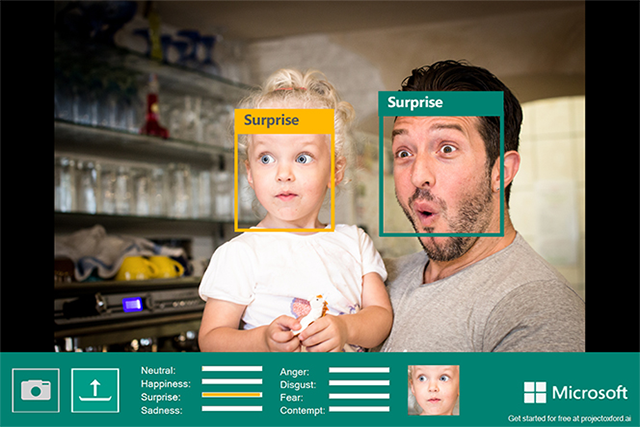 Microsoft Developers Emotion Detection Apps