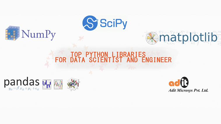 python data scientist libraries